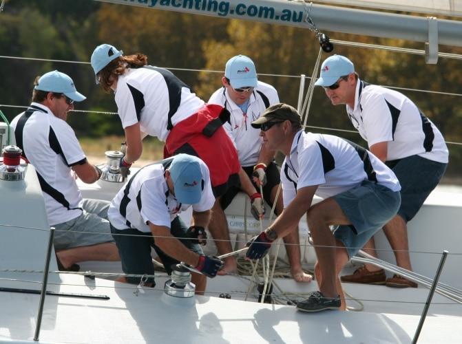 team building perth sailing
