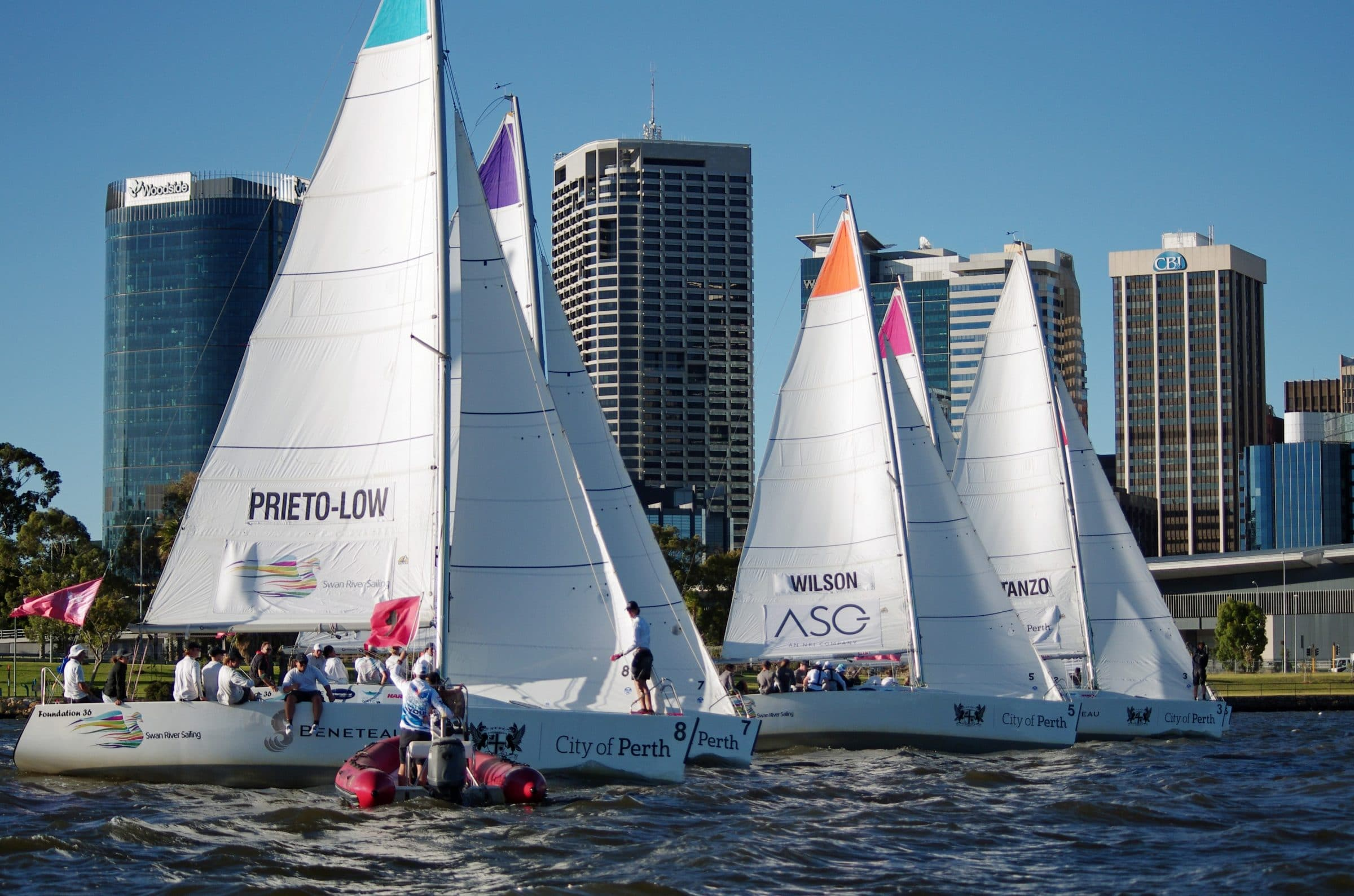 City of Perth Festival of Sail Sponsor's Race