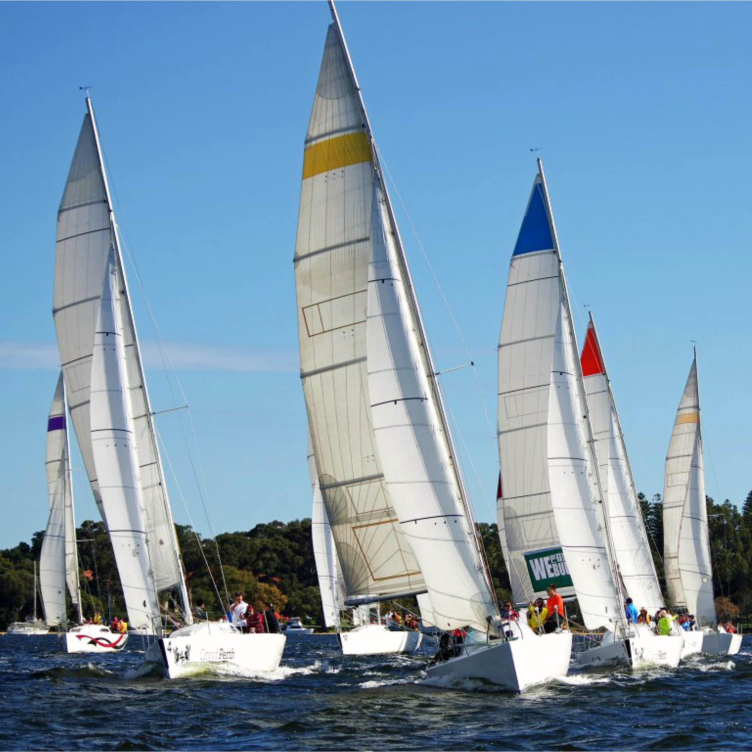 swan river sailing charter on yachts in perth