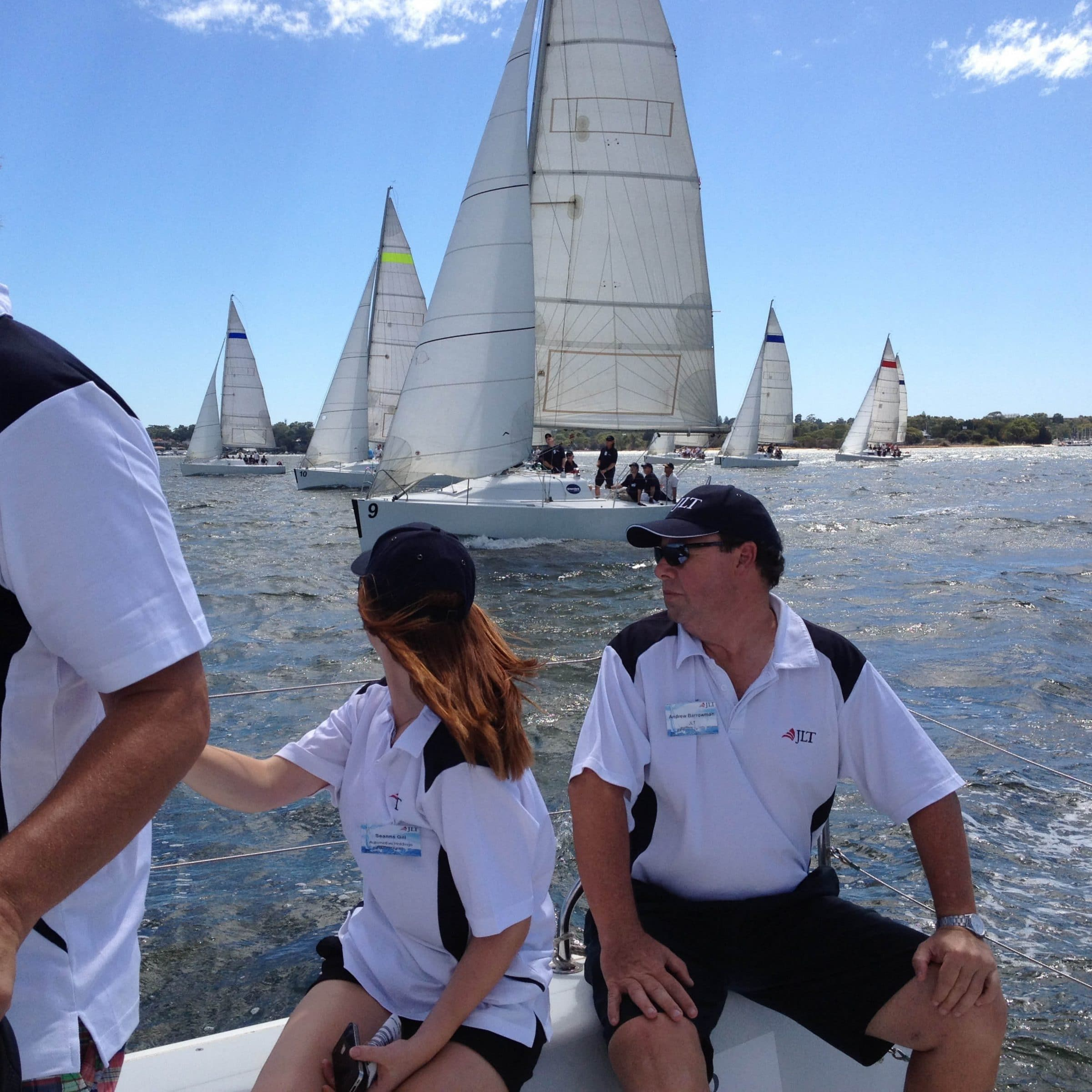 corporate sailing charter on the swan river in perth
