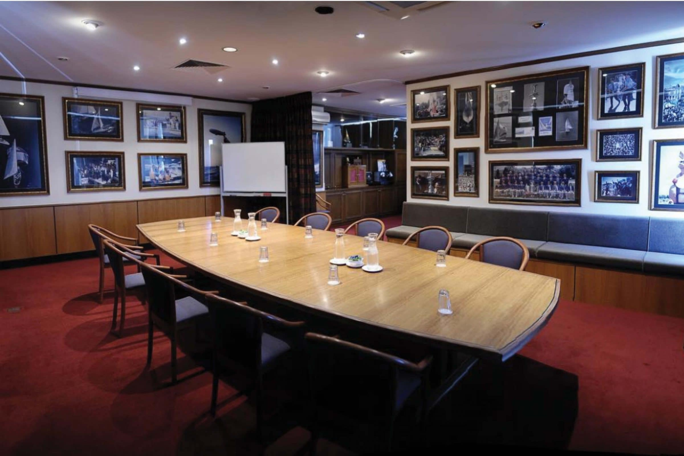 bond room meeting room at the royal perth yacht club