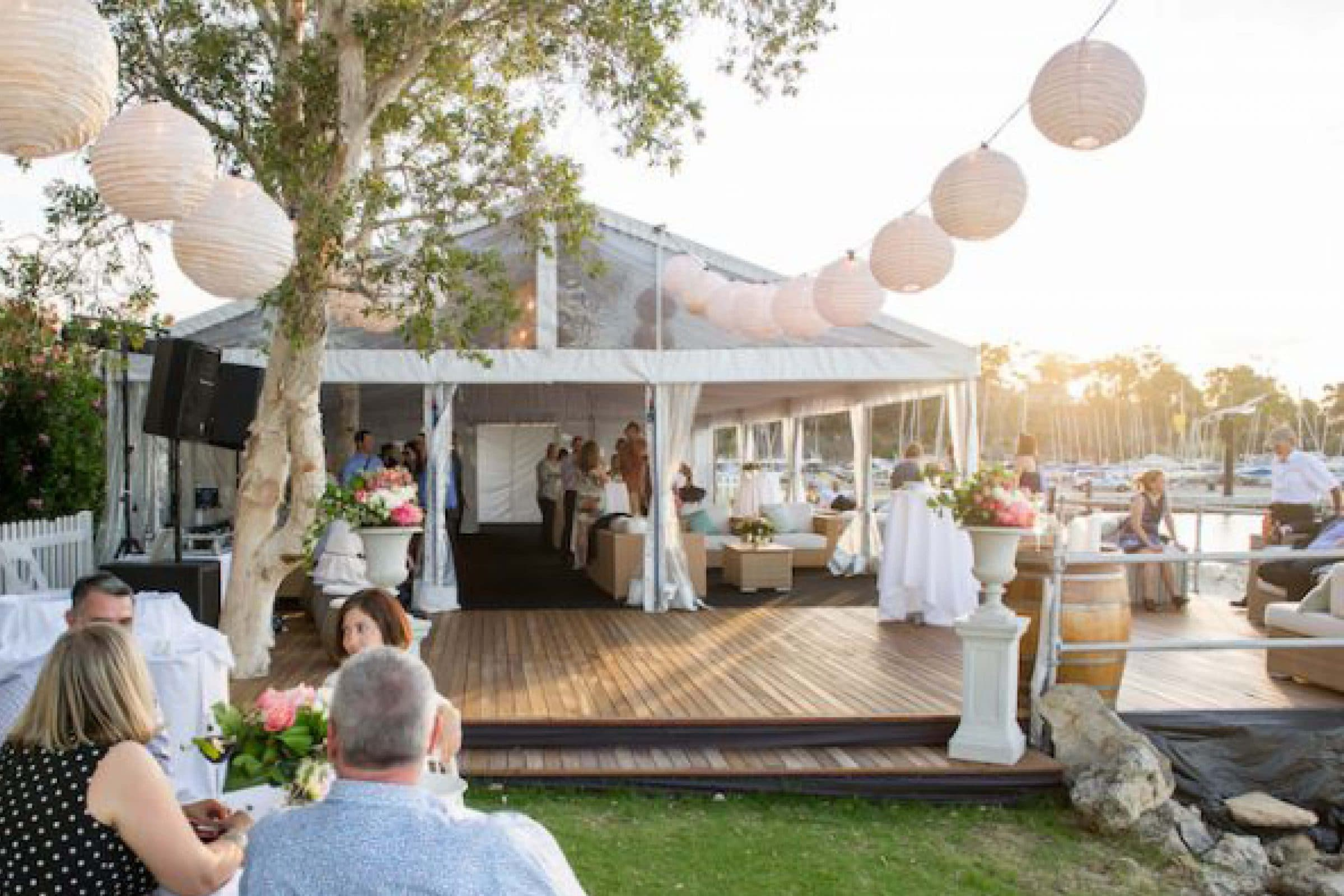 corporate function hire at South of Perth yacht club