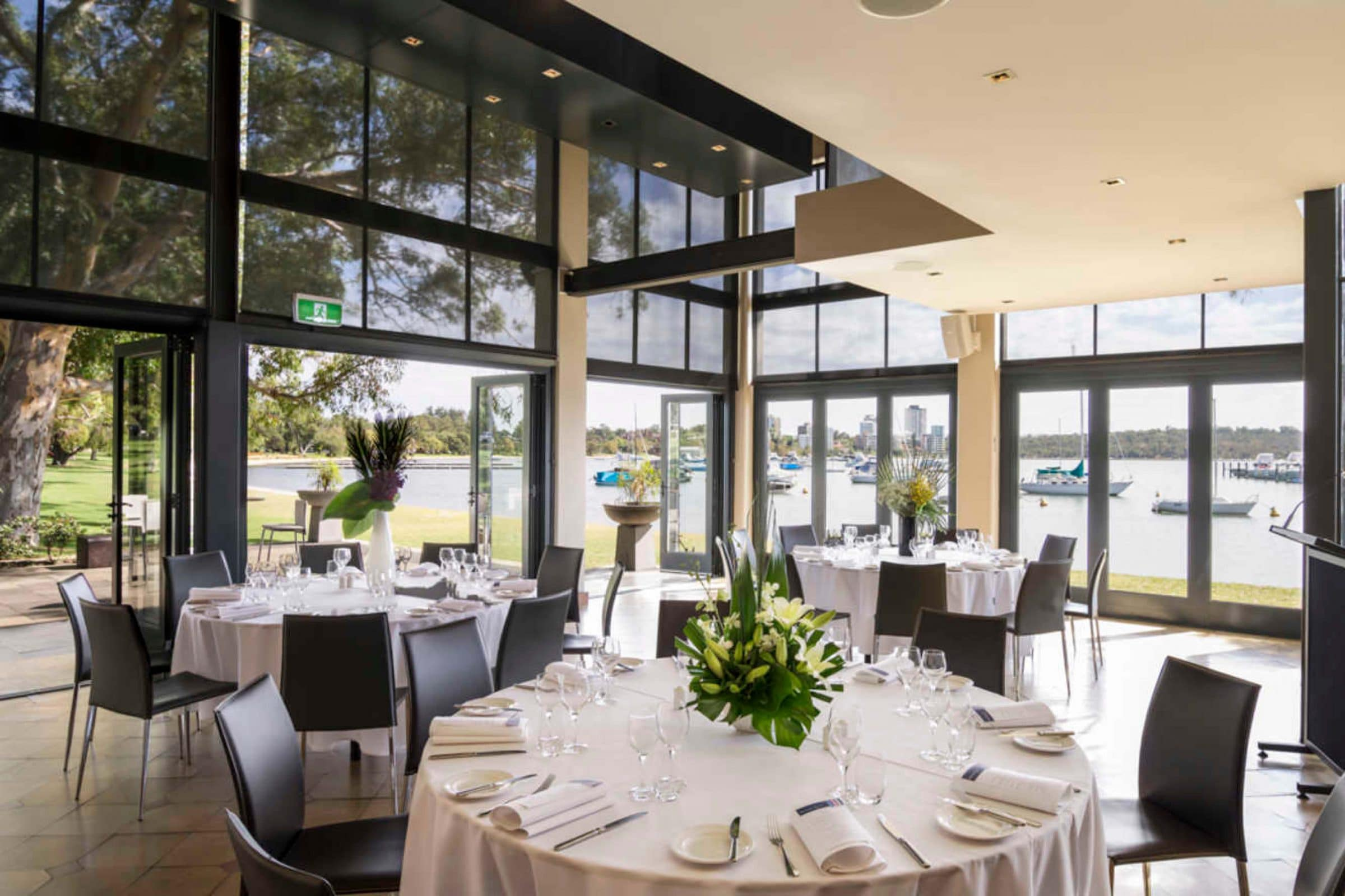 matilda bay restaurant corporate function hire in perth