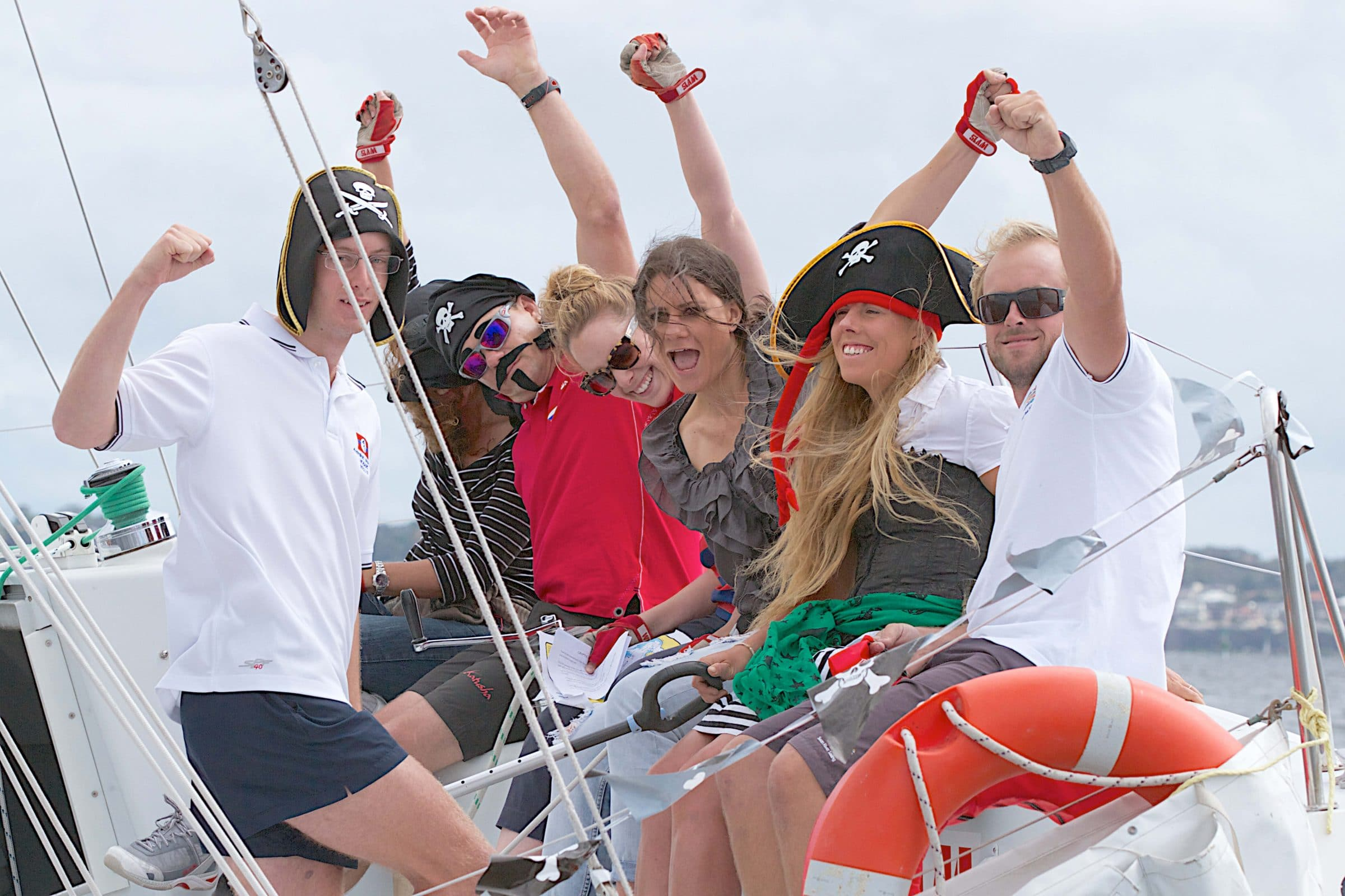 pirate challenge sailing program for team building in perth