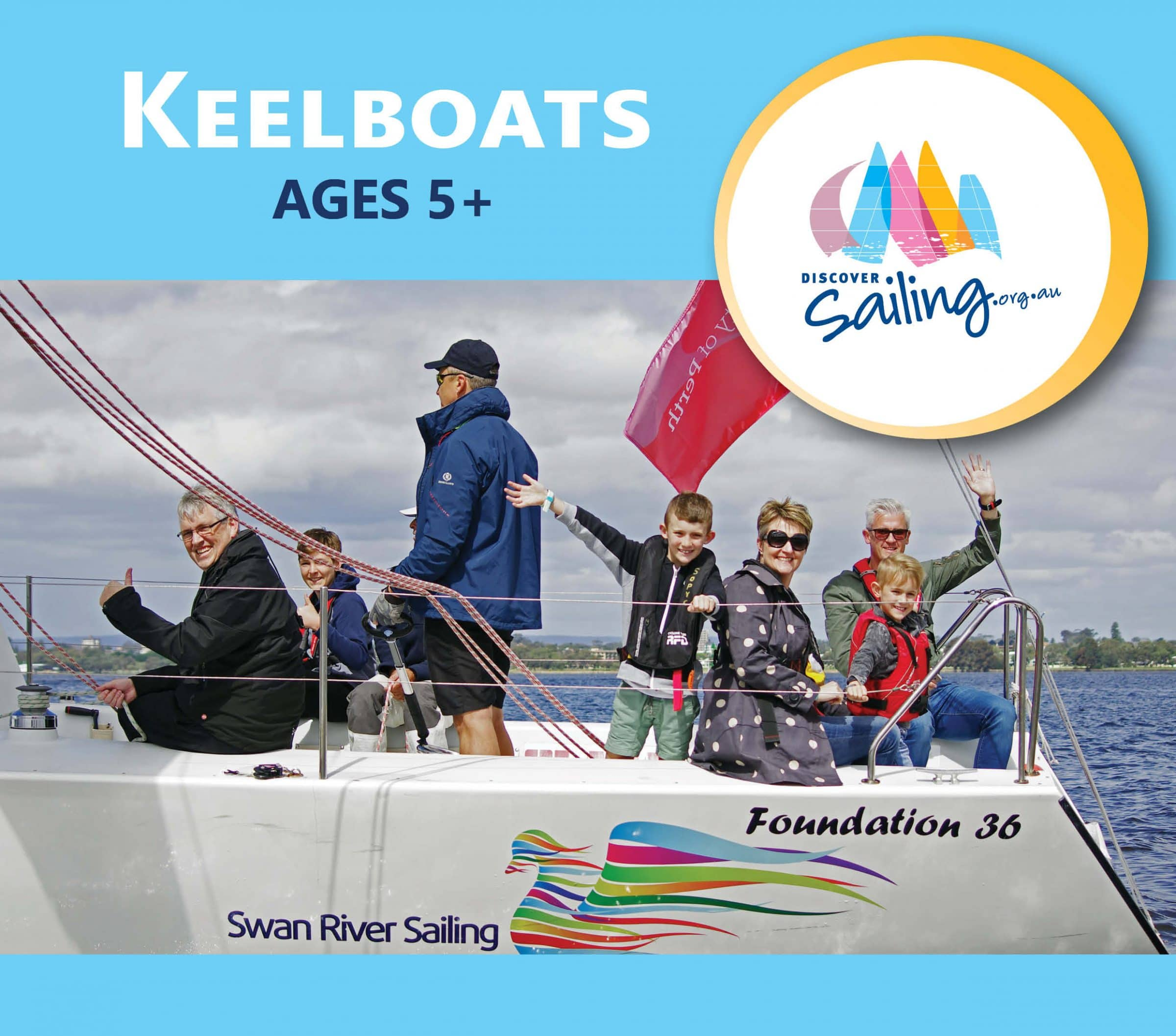 discover keelboats at the 2018 perth international boat show