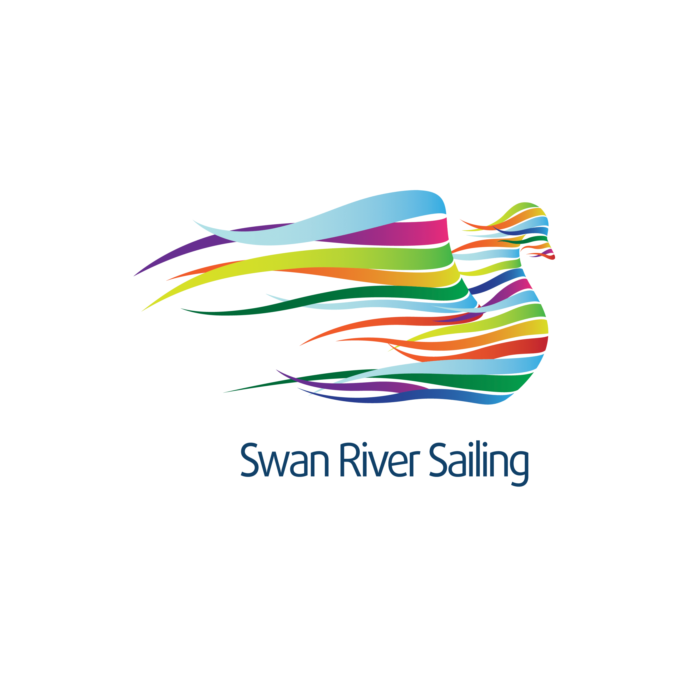 swan river sailing logo