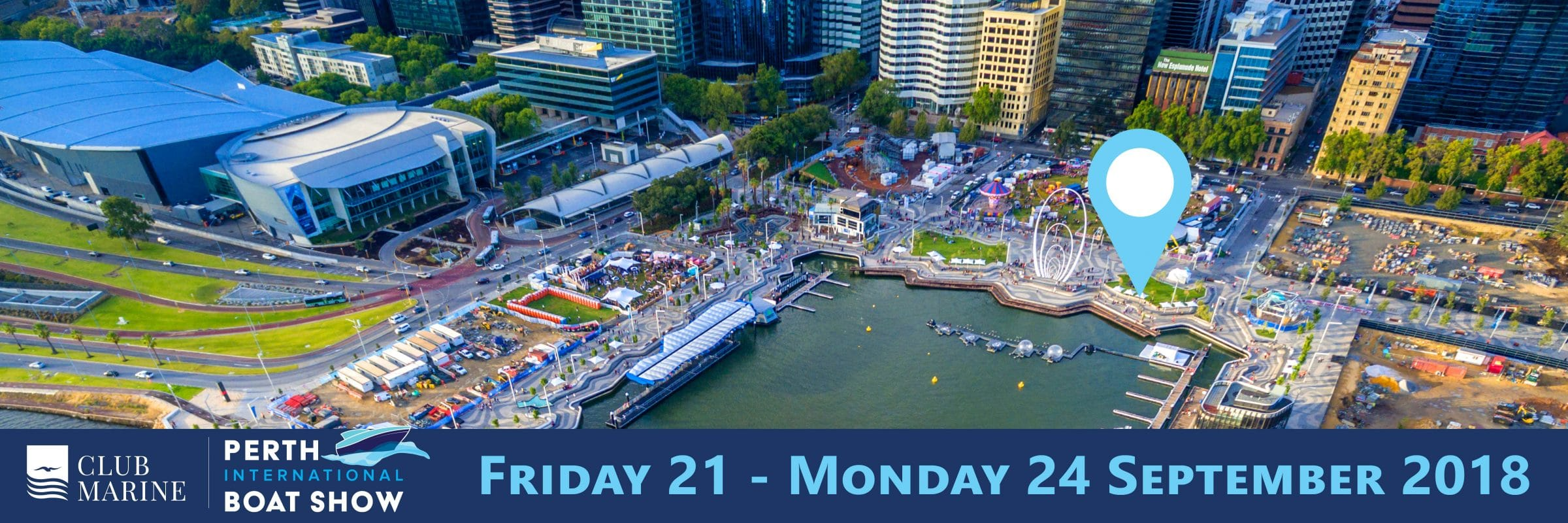 tackers and keelboats and powerboats experiences location at the 2018 perth international boat show