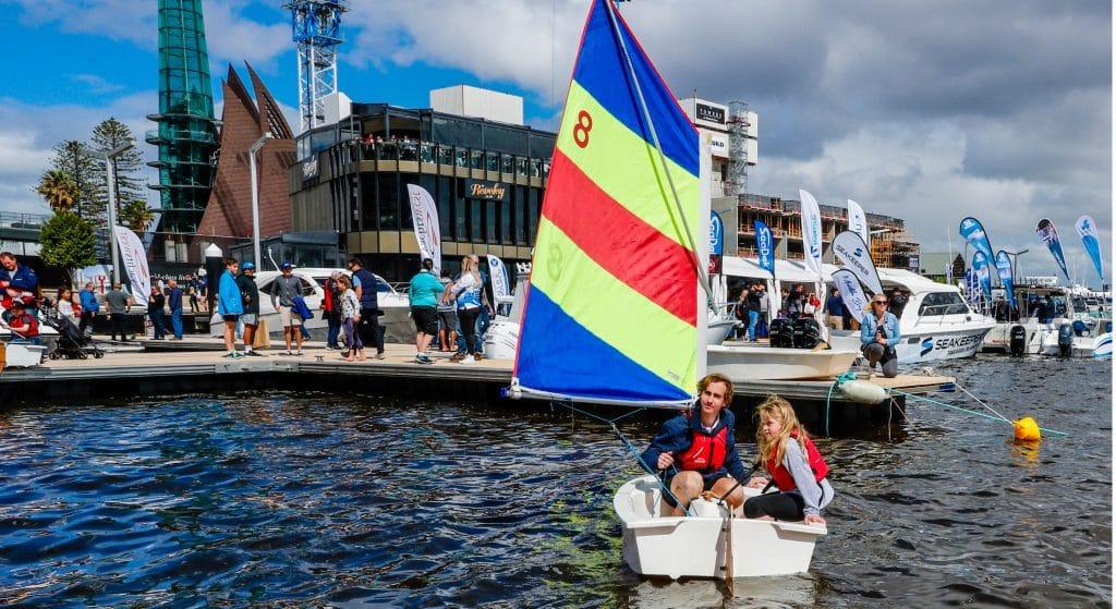 tackers at the 2018 perth international boat show