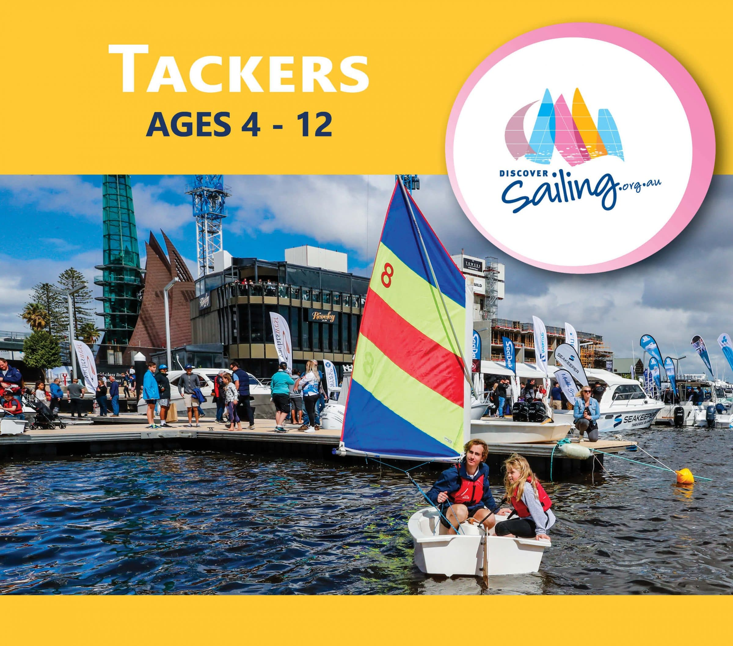 tackers experience at the 2018 perth international boat show