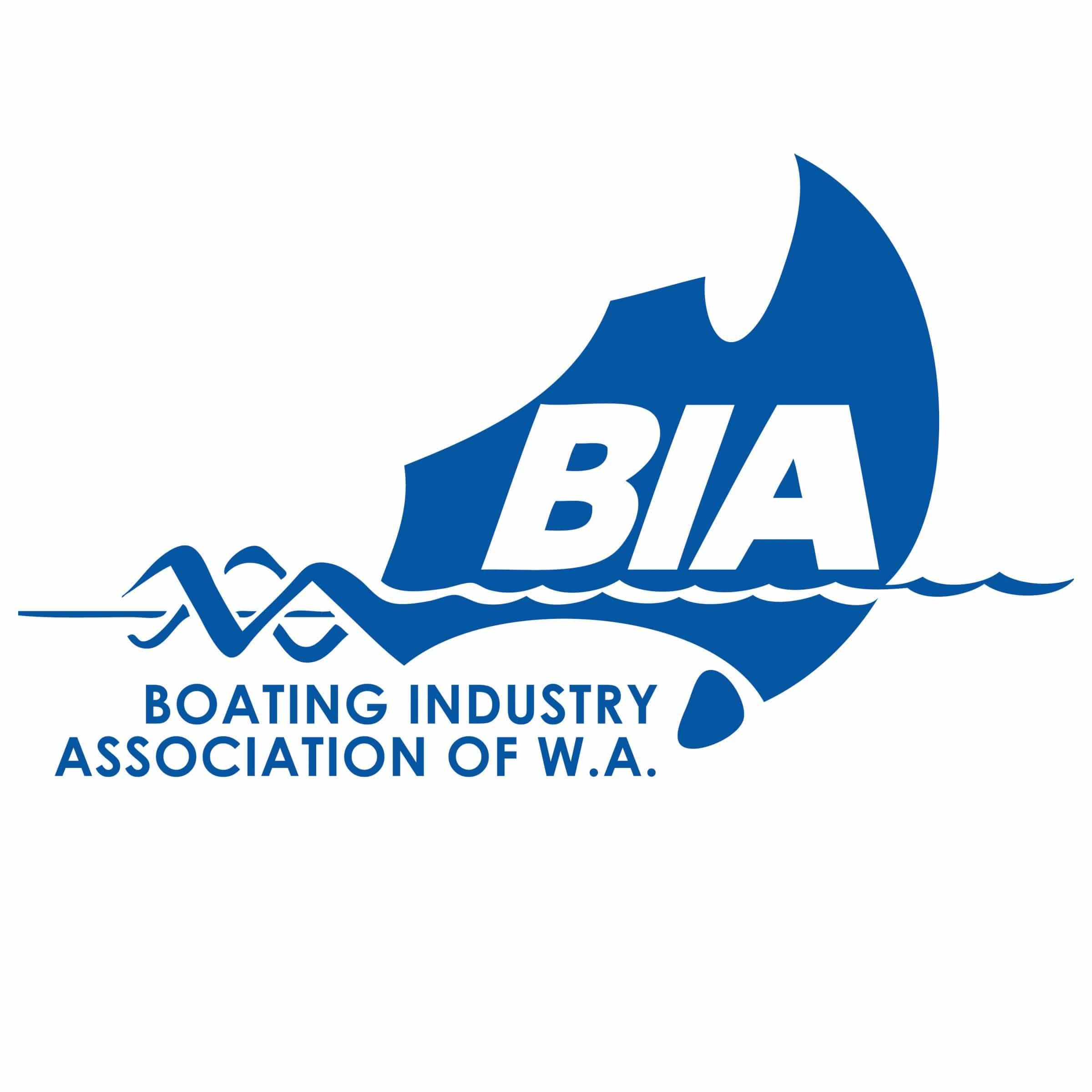 swan river sailing supporter boating industry association wa logo
