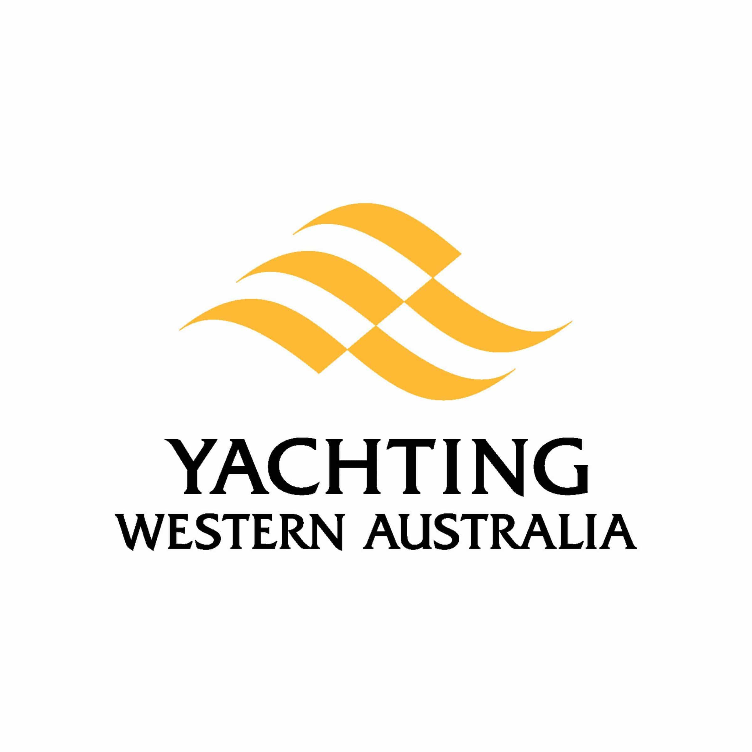 swan river sailing supporter yachting western australia logo