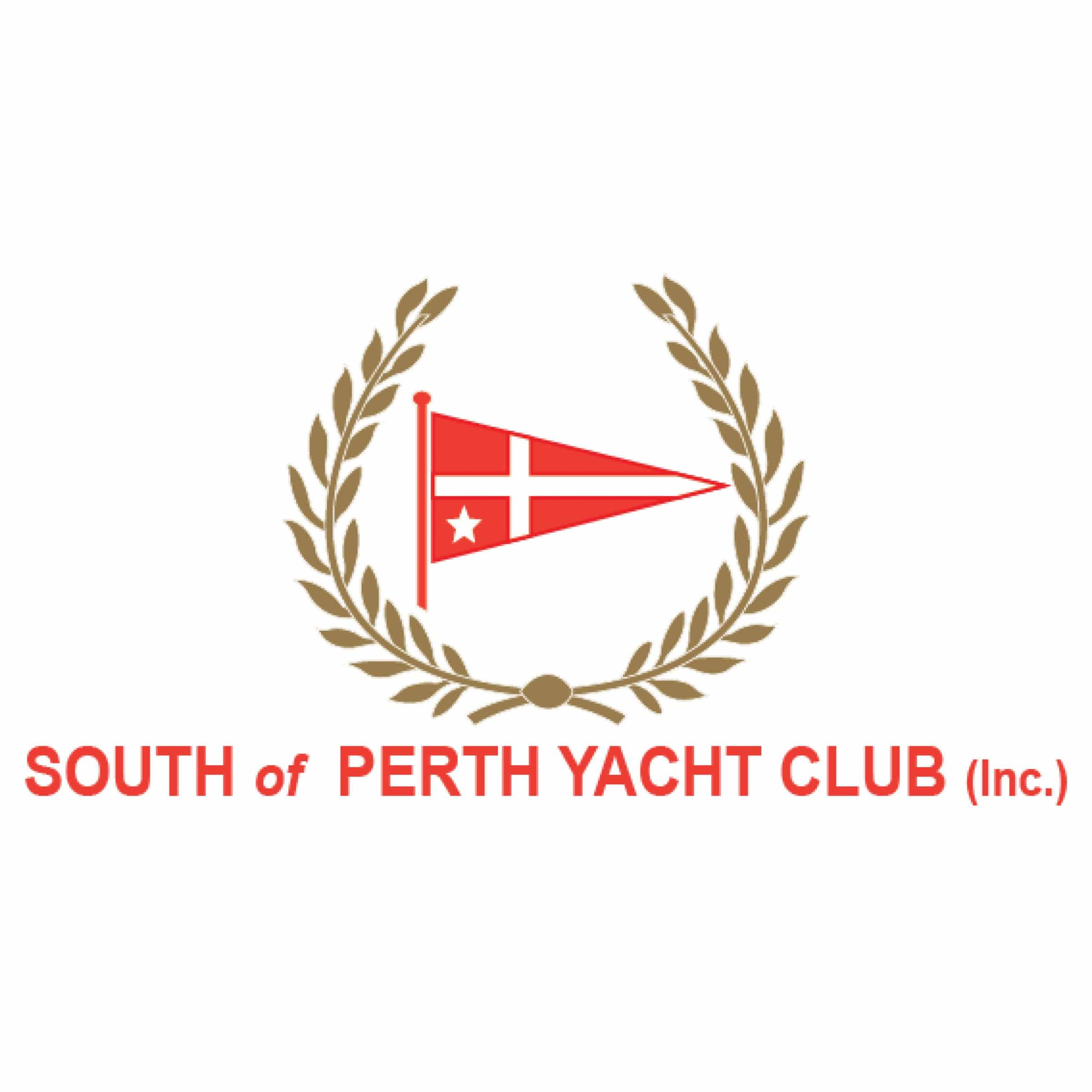 swan river sailing supporter south of perth yacht club logo