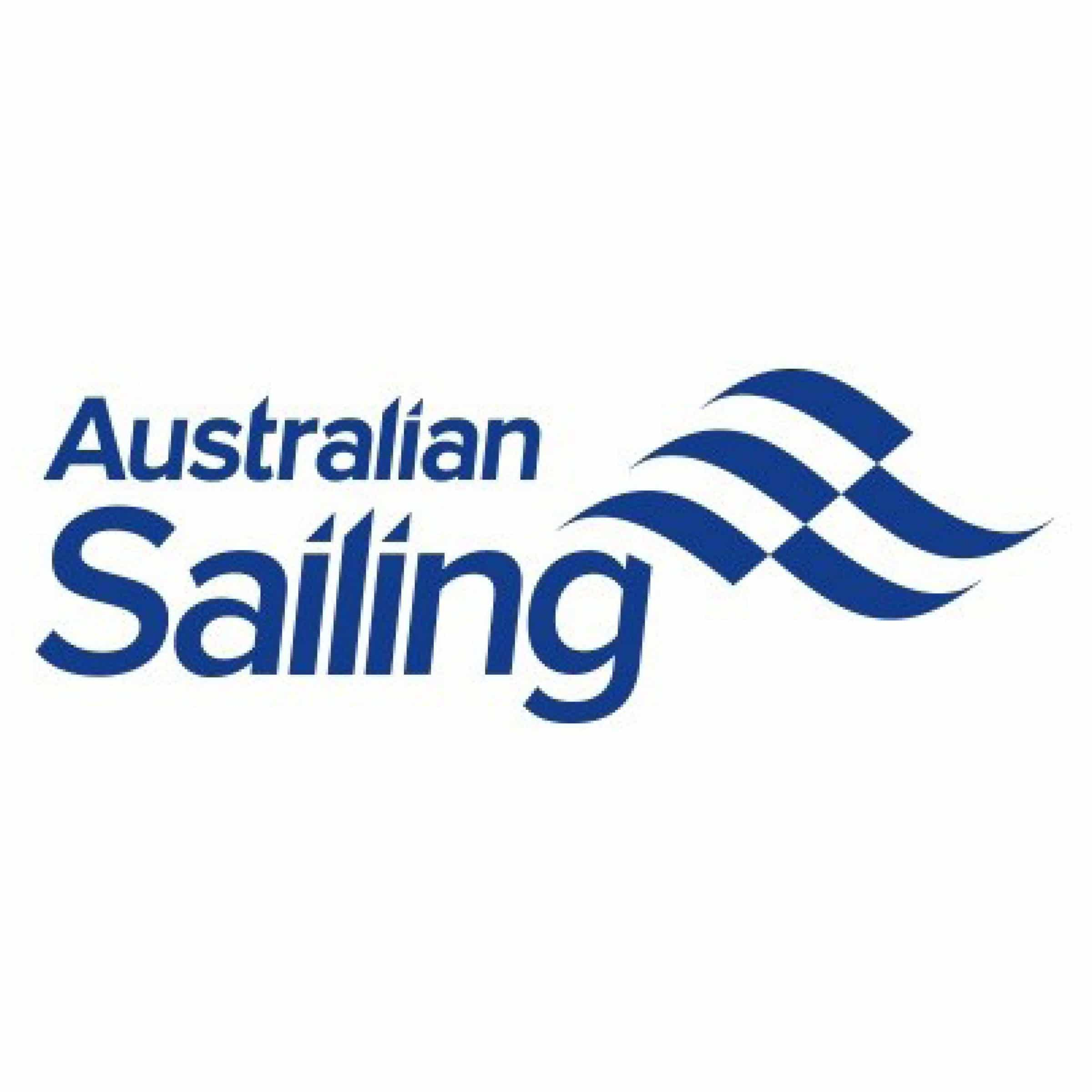 swan river sailing supporter australian sailing logo