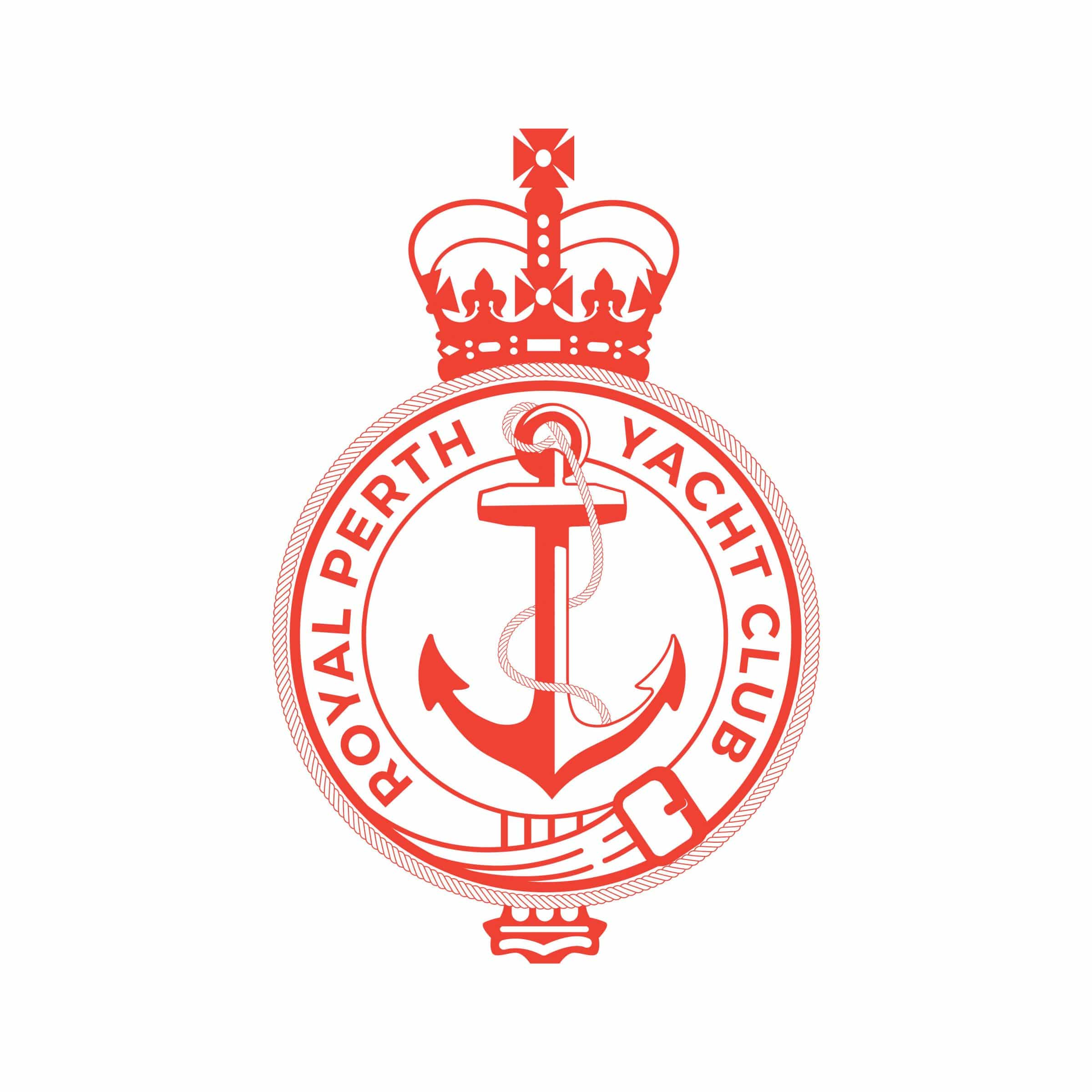 swan river sailing supporter royal perth yacht club logo