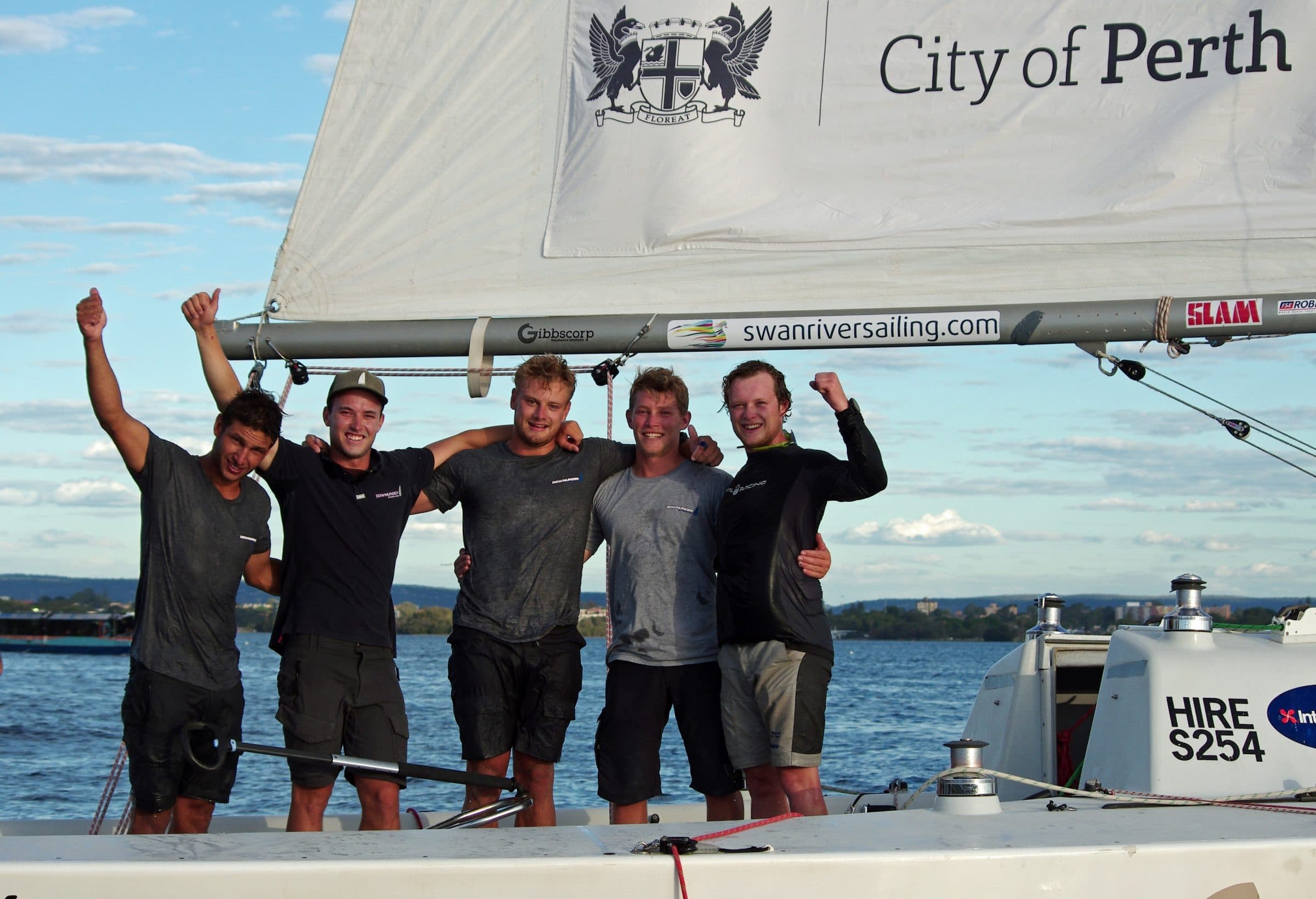 2018 warren jones international youth regatta champions harry price from the cruising yacht club of australia