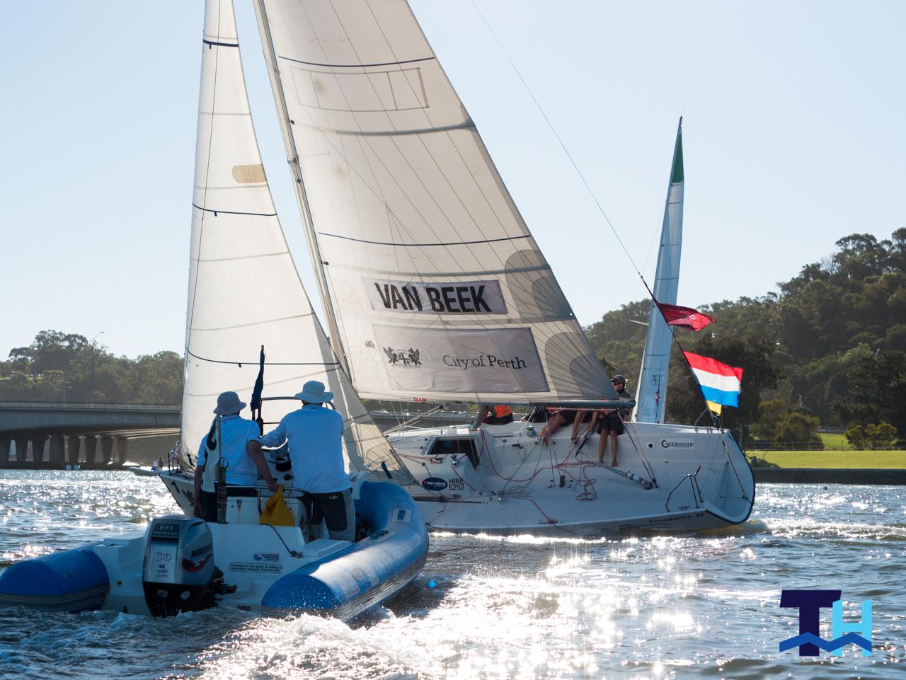 Day 2 2019 City of Perth Festival of Sail Warren Jones International Youth Regatta Van Beek