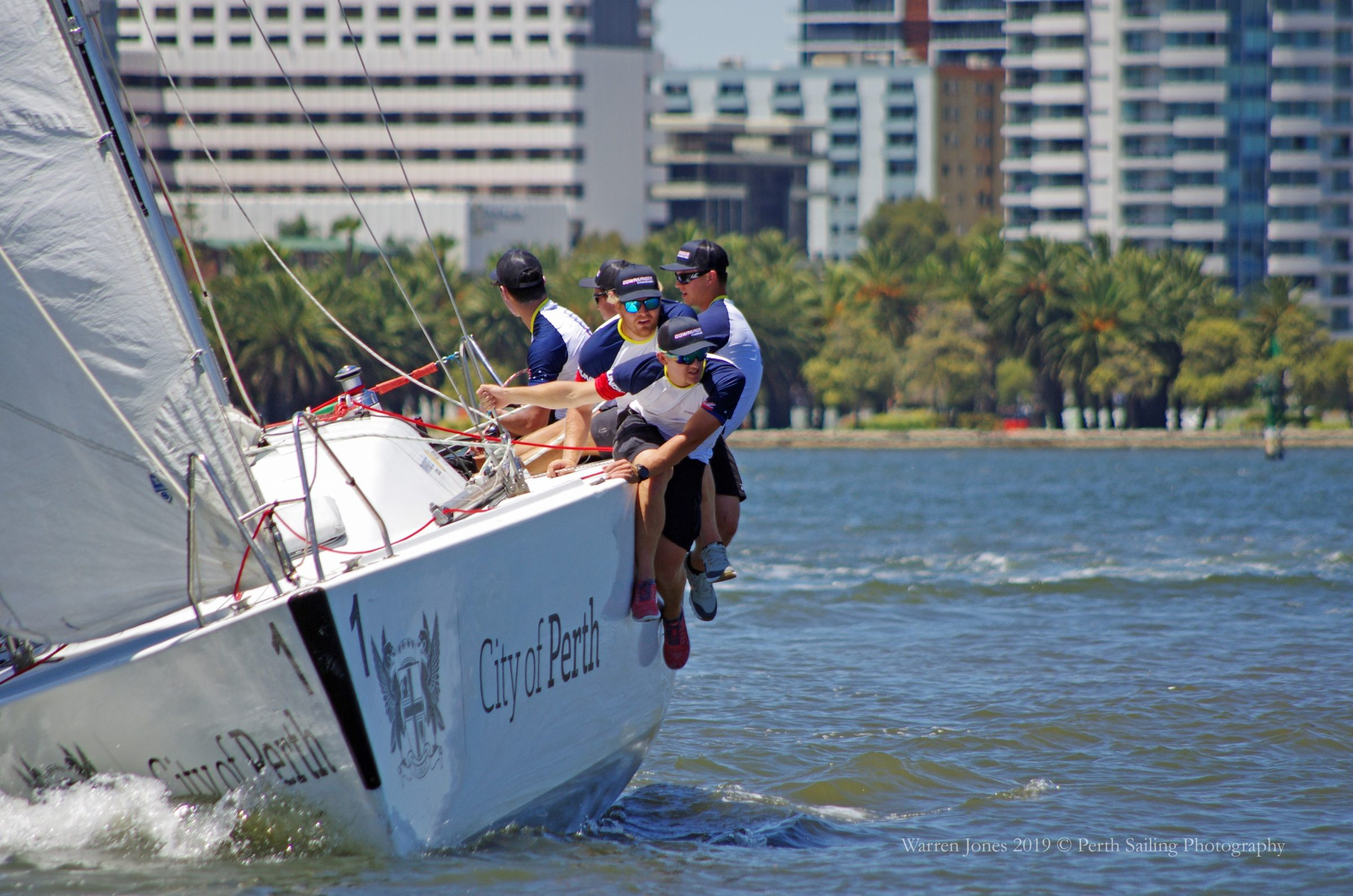2019 City of Perth Festival of Sail Day 2 Warren Jones International Youth Regatta Harry Price