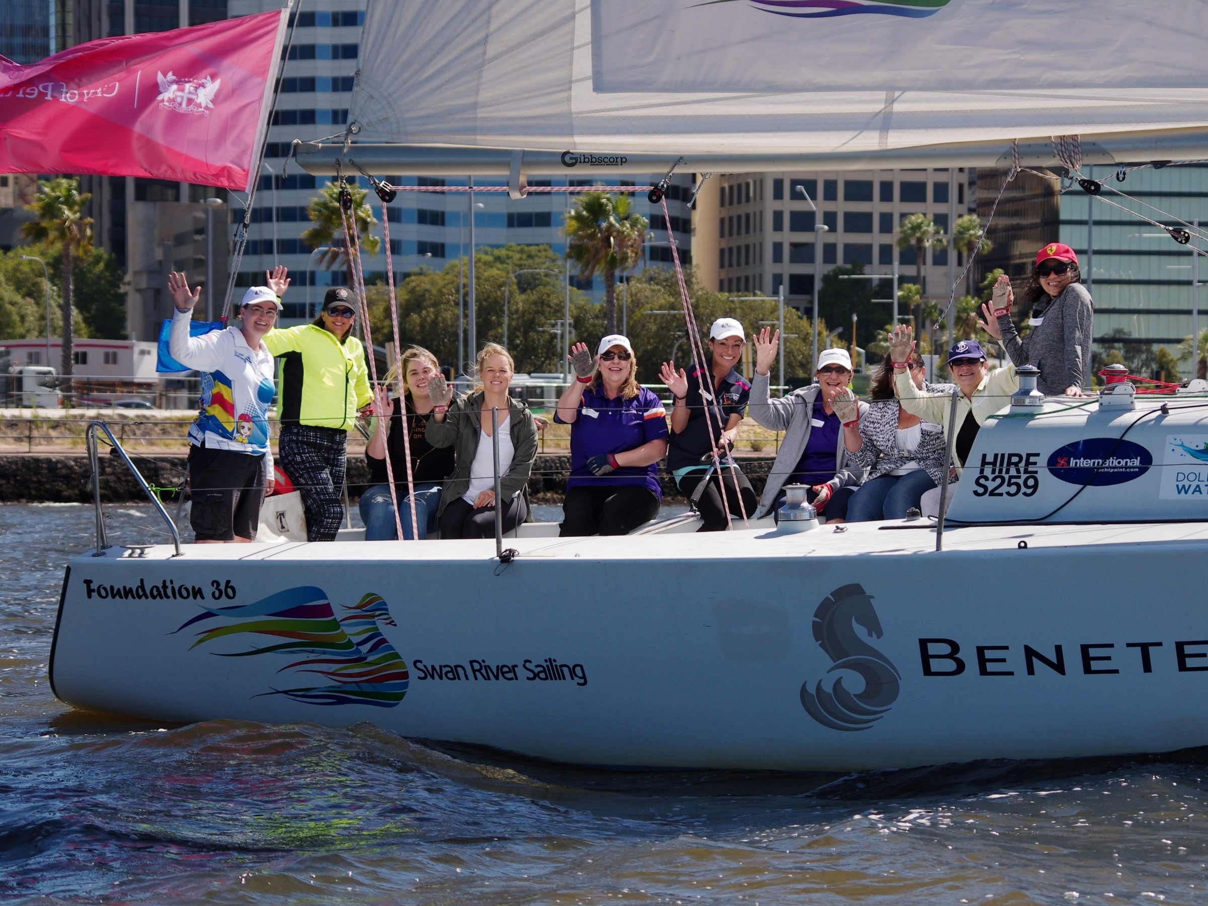 2019 city of Perth festival of sail women on water networking event